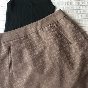 Loft Dress Skirt